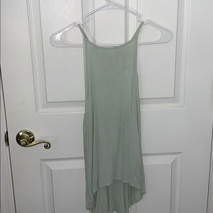 Mint colored tank top/blouse